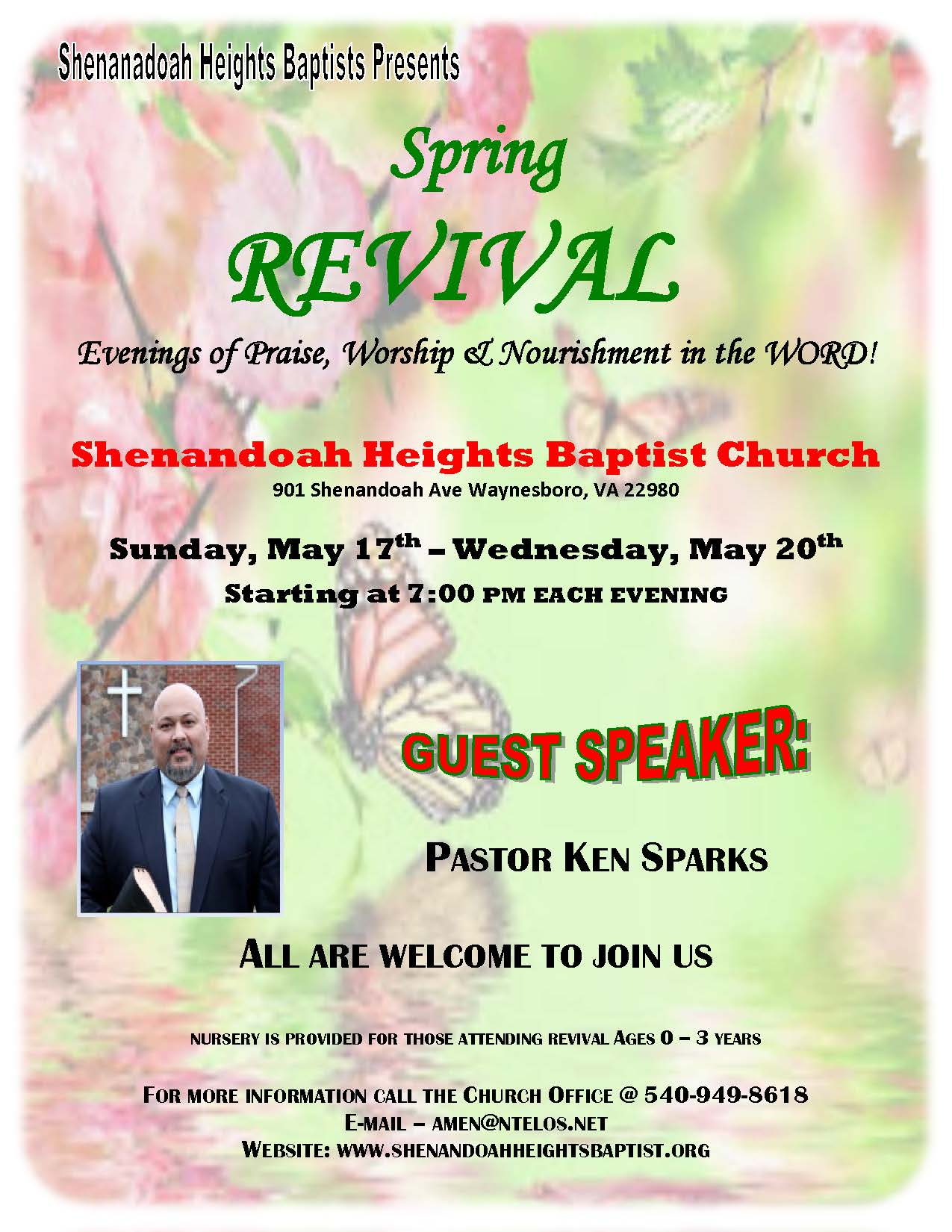 Spring Revival Flyer 2015